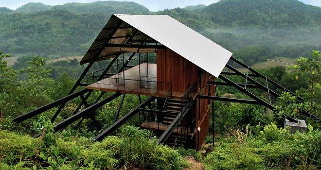 casa rifugio sri lanka architettura