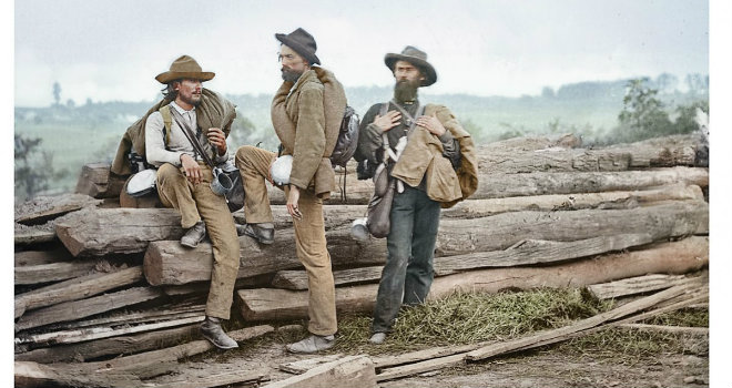 civil war prisoners colorized