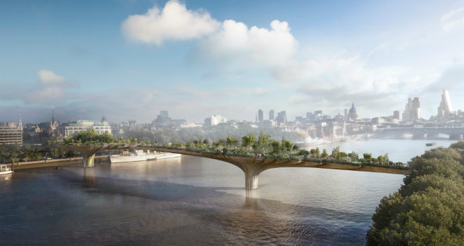 garden bridge londra