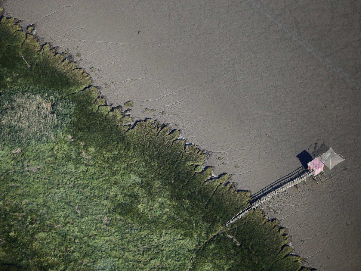 La pesca su una verga Pripyat