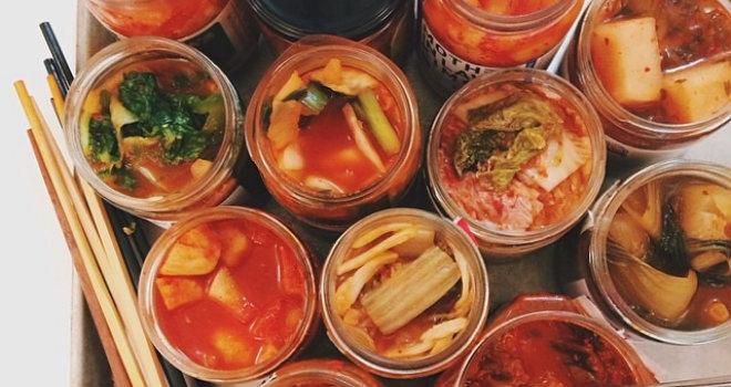 kimchi barattoli chopstick
