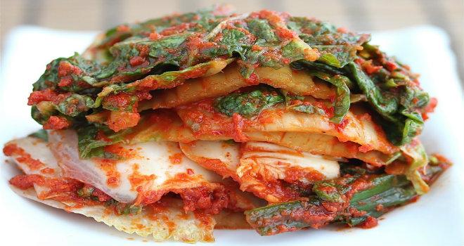 kimchi food corea