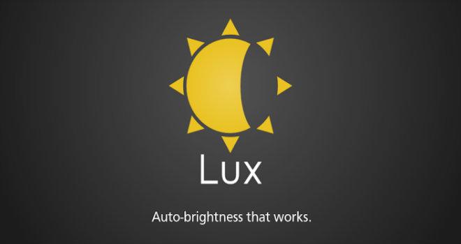lux auto brightness app
