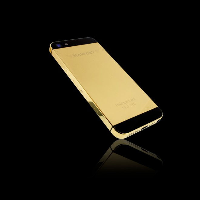 mansory iphone oro