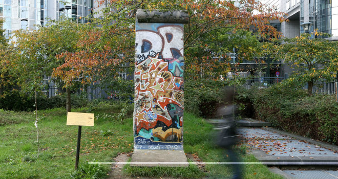 muro berlino bruxelles beglium