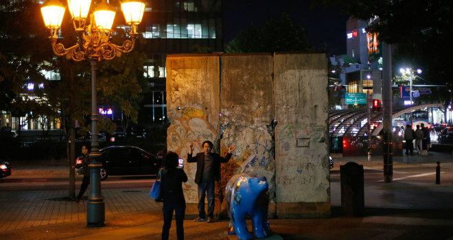 muro berlino sud corea