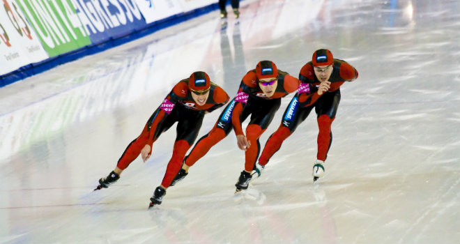 speed skating sport