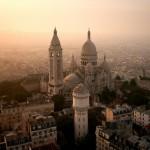 17) Una visione dall'alto del Sacre-Coeur a Parigi (Francia)