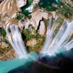 18) Le cascate di Tamul a San Luis Potosi (Messico)
