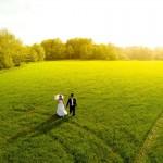 7) Una coppia di sposi a Hlinkso (Repubblica Ceca)