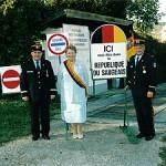 E' una micronazione formata da 11 città, fondata per gioco sul confine franco-svizzero nel 1947 da Georges Pourchet. La presidente oggi è Georgette Bertin-Pourchet, figlia del fondatore. La Repubblica di Saugeais è un popolare centro di attrazione turistica.