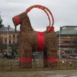 In Svezia possiamo trovare lo YuleGoat, un uomo capra ricorrente nella mitologia scandinava. Dal diciannovesimo secolo questa figura è considerata portatrice di regali. Attualmente gli alberi di Natale degli svedesi sono addobbati con piccoli ornamenti di paglia che raffigurano una capra.