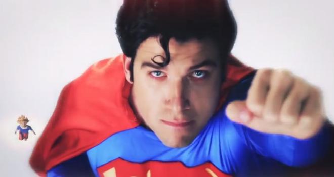 goku vs superman video