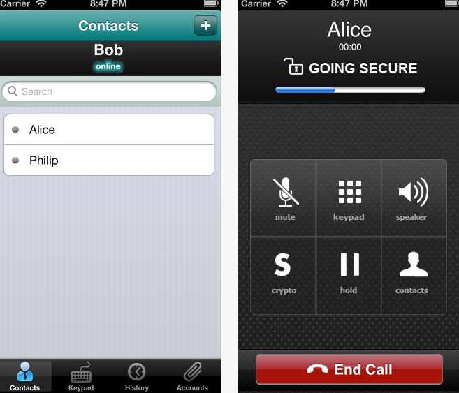 safe voice app