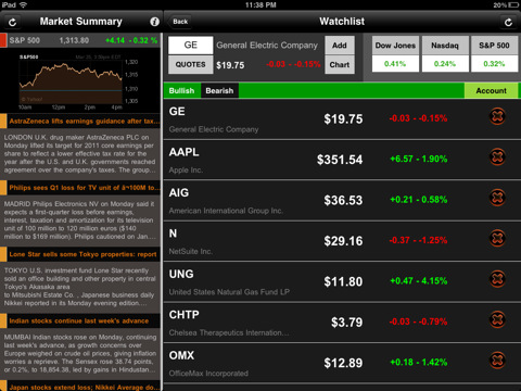 stock arbitrage trade