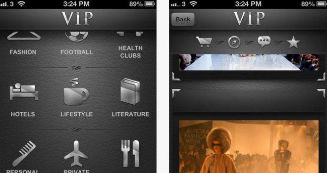 vip black app copertina