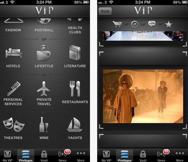 vip black app