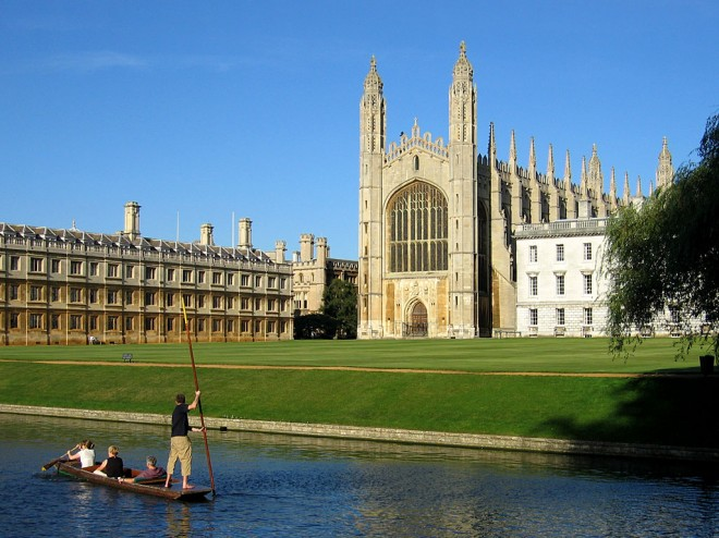 Università di Cambridge (Cambridge, Regno Unito)