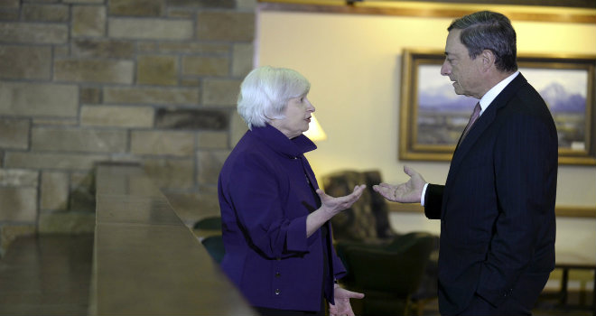 yellen draghi