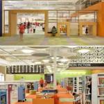 Il progetto però non si limita alla biblioteca. Nell'ex Walmart sono presenti anche un auditorium, un caffè, un negozio di libri usati un auditorium e le piattaforme per auto-registrarsi il prestito dei libri.