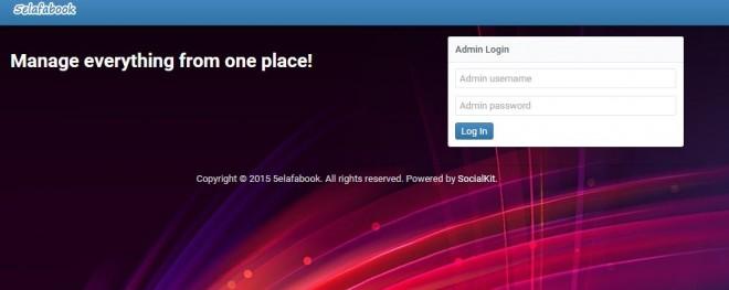 5elafabook-admin-login-page