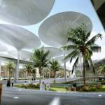 La città saudita di Masdar City, nonostante sia meno popolata rispetto ad altre realtà come Songdo, si candida a diventare una importante Smart City, in particolare per le basse emissioni di carbonio che caratterizzano i progetti di futura realizzazione sul suolo urbano. Invece di produrre energia dalla combustione di petrolio, carbone o gas, Masdar produce energia grazie ai parchi solari. Il risultato? La città consuma il 20% dell'energia che una città delle sue dimensioni consumerebbe. Le previsioni dicono che il centro, entro il 2025, diventerà una meta importante per eco-imprenditori e residenti, ospitando circa 40 000 persone e preparandosi all'arrivo di circa 50 000 pendolari ogni giorno. Nonostante le prime battute d'arresto, numerosi investitori e imprese restano impegnate a Masdar. La Siemens, per esempio, ha aperto qui la sua sede mediorientale lo scorso anno e il Massachusetts Institute of technology (MIT) ha contribuito a fondare il Masdar Institute of Science and Technology nel 2009.