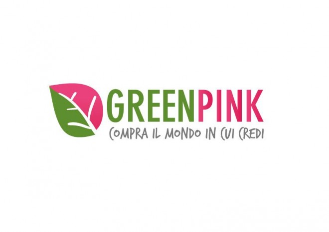green pink