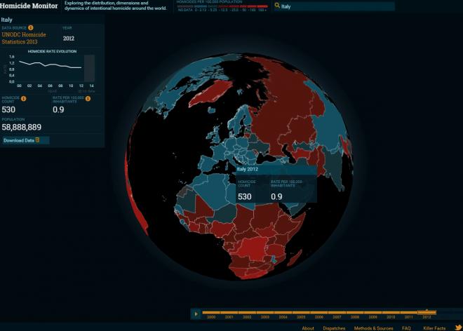 mappa omicidi