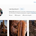 Randy Olson è un fotografo documentarista che lavora per il National Geographic. Ha fondato The Photo Society, un collettivo per collaboratori fotografici. Sul suo profilo, Olson pubblica foto dei propri reportage in Africa, India e Australia.