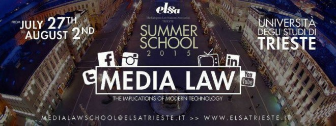Media Law School di ELSA Trieste