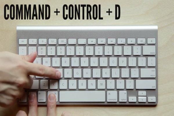 Combinazione tasti per Mac
