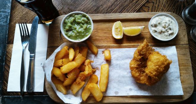 Fish and Chips greenwich english food uk