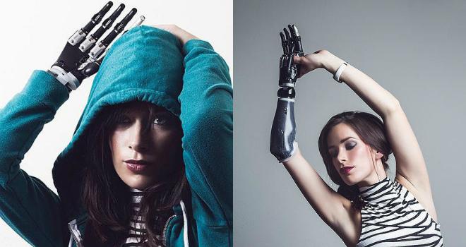 rebekah marine bionic hand