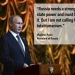 3) Vladimir Putin