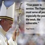 7) Papa Francesco