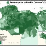 Los Morenos (meticci) sono una parte della popolazione del venezuela costituita per il 61% da europei, per il 23% da popoli indigeni e il 16% da africani. Essi rappresentano la metà della popolazione complessiva del paese (50-51%).