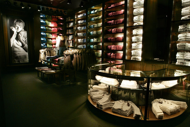 abercrombie and fitch store moda fashion