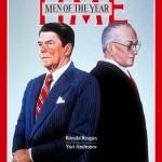 1983, Reagan e Andropov