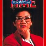 1986, Corazon Aquino