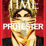 2011, il manifestante