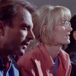 """Clegg sottolinea che """"Jurassic Park"""" è stato un importante passo avanti per come gli scienziati sono stati ritratti nei film di fantascienza. """" Come con 'E.T.' e 'Incontri ravvicinati del terzo tipo', Spielberg fa degli scienziati dei bravi ragazzi """" ."""