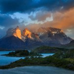 Torres del Paine National Park Chile, foto di Gleeb Tarro