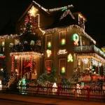 Una villetta di Dyker Heights, New York