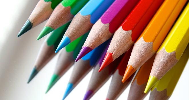 colorare coloring disegnare matite colorate colori giallo rosso stress staccare la spina lavoro stressante come fare