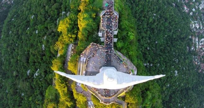 Christ the Redeemer a Rio de Janeiro, Brazil