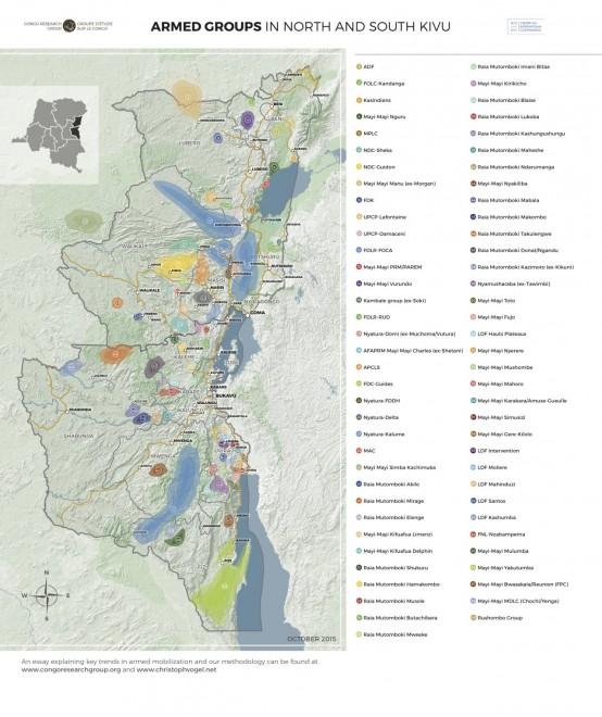 mappa congo