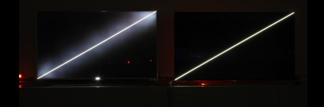 oled colore televisione lg schermo nero tech