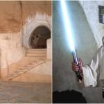 Nell'hotel Sidi Driss di Matmata, in Tunisia, invece, gli appassionati portano visitare quella che è stata utilizzata come casa di Luke Skywalker.