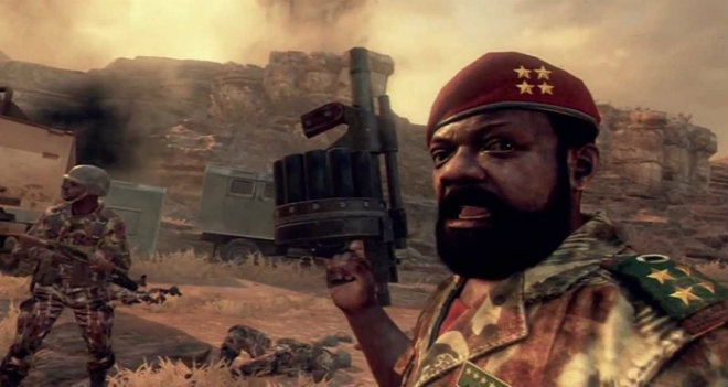 ribelle angolano, Jonas Savimbi, Call of Duty
