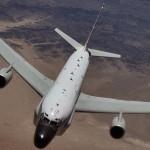 E' un aereo americano utilizzato dalla RAF per la sorveglianza elettronica. Si possono intercettare conversazioni telefoniche e individuare nemici con grande precisione.